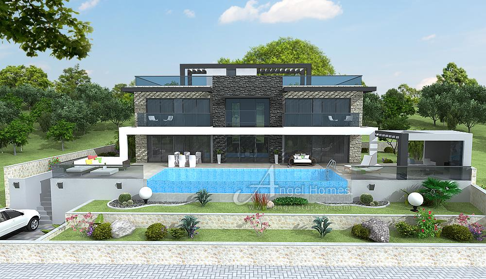 5-bedroom luxury villa Faralya