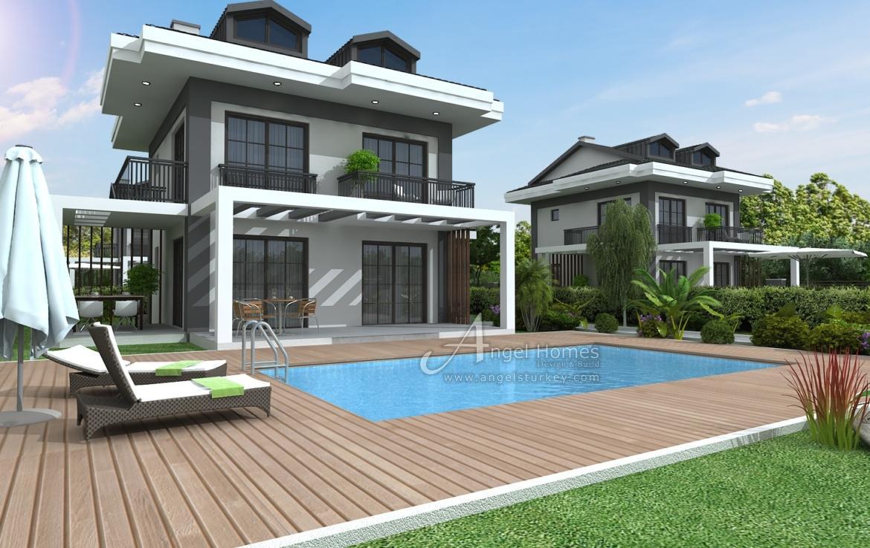 4 bedroom villas